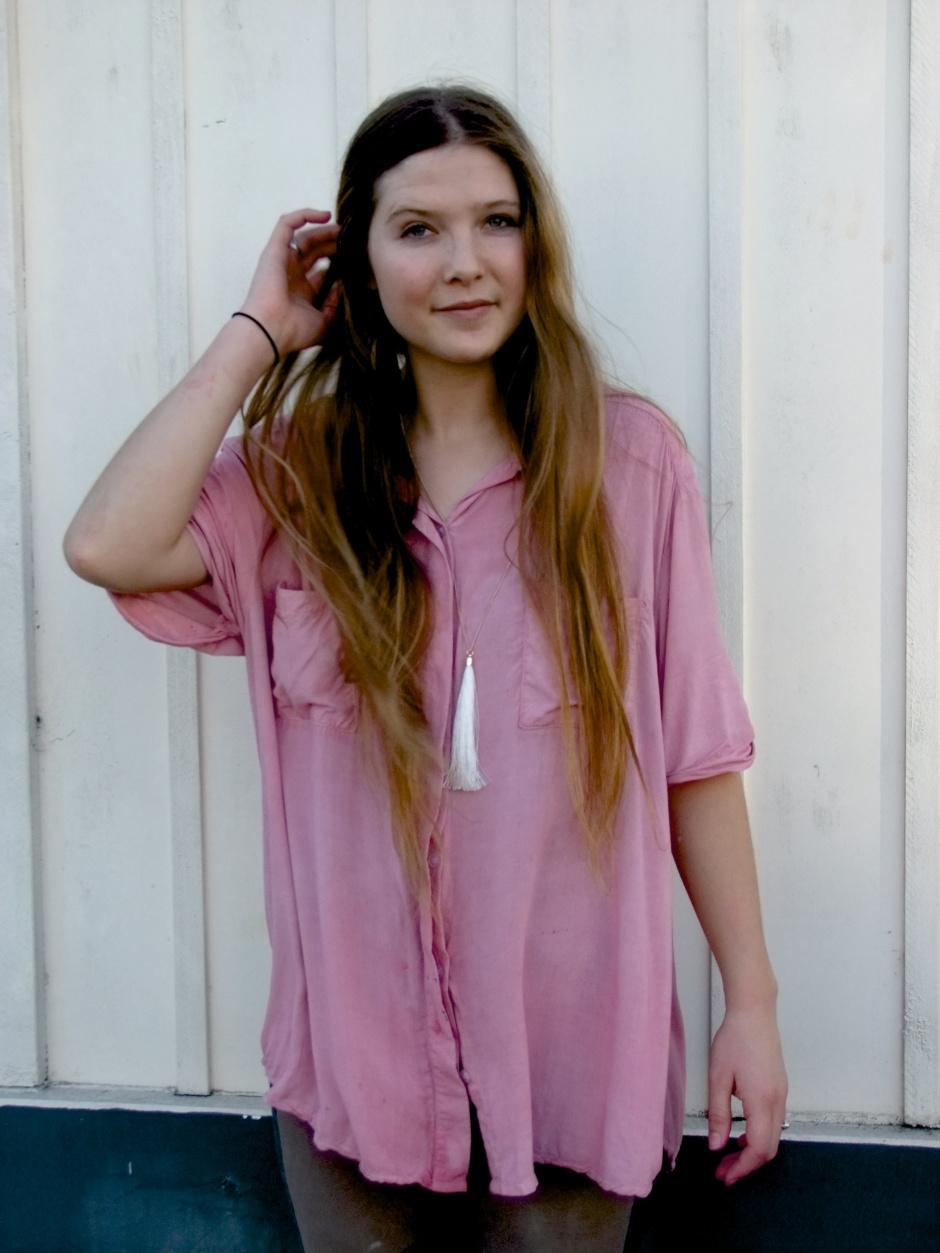 Karenza dyed shirt
